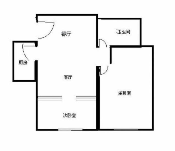 九号线两房,采光佳,小区绿化好,拎包入住,有钥匙随时看房水清年华
