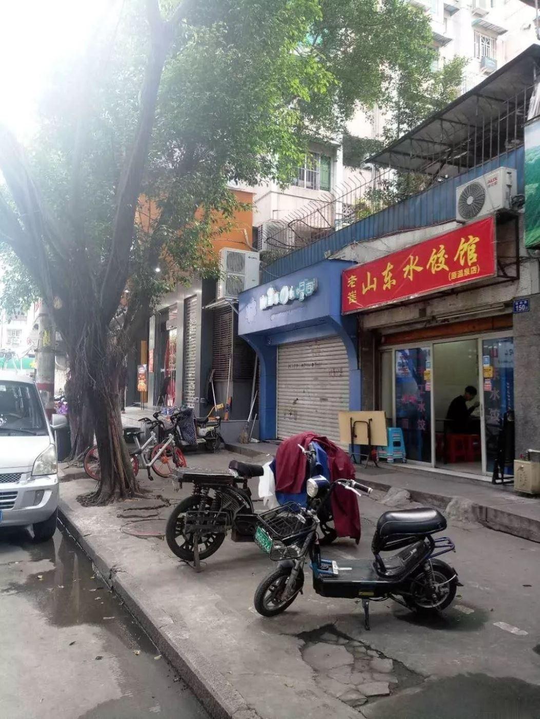 西二环福屿路,沿街餐饮店面,总价88万,月租金3千