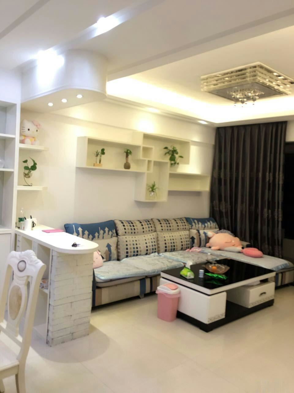 宝龙和八仙山附近 永隆国际 精装温馨大两房家电家具齐全招永隆国际