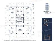 宝安城区商业用地全新一手纯商务写字楼整层售3.8万