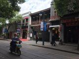 新年双杭城出入口旁十字路口门面霸气广告 可餐饮