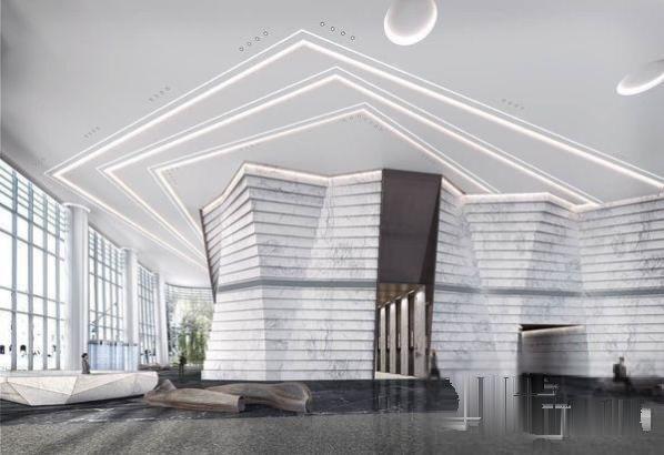 建筑世贸前海2017高调入市45 旋转楼体结构