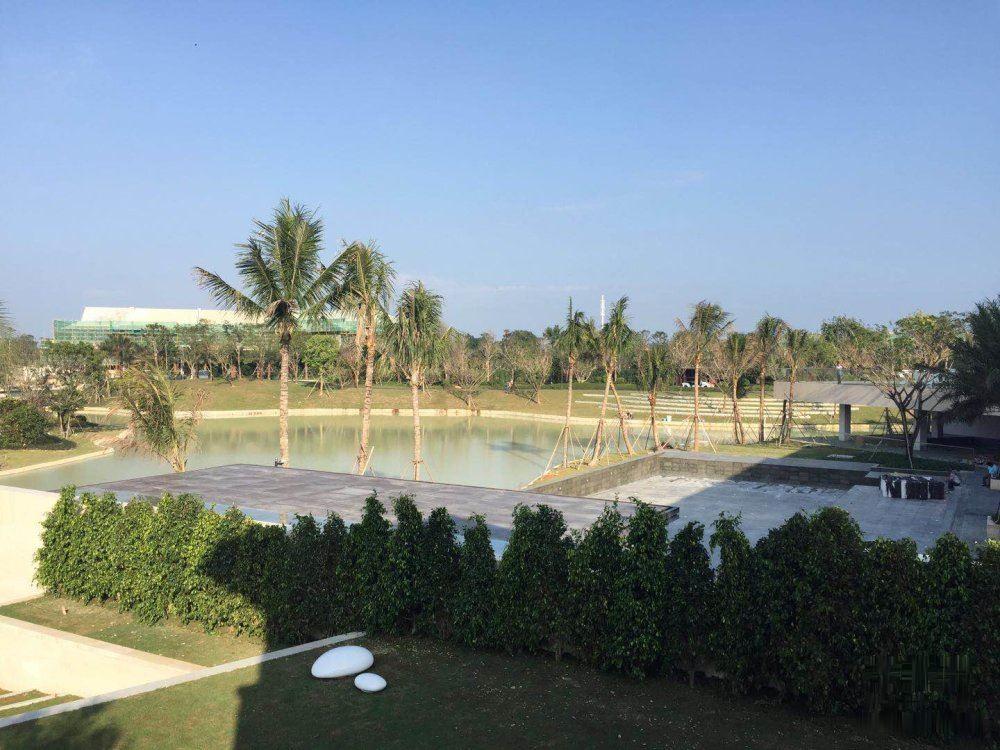 国家海岸丨融创海棠湾鉴湖独栋别墅使用400平+逆流泳池+
