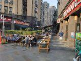 一环路9米开间全业态重餐饮铺送外摆公 寓大门口,地