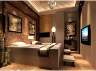 重庆足浴休闲会所设计装修 重庆足浴养生会所装修设计