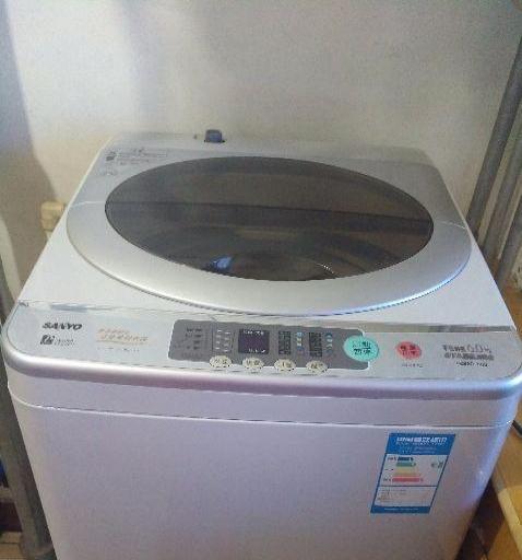 因搬家卖自己家用的,全自动洗衣机,电视等