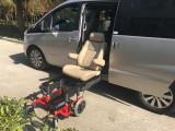 常州信德泰克改装商务车可编程老年人电动旋转升降福祉座椅
