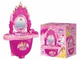 新奇特拉杆旅行箱城堡化妆台玩具套 女孩过家家玩具 创意儿童玩具