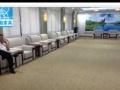 会客沙发单人皮布艺沙发办公室酒店会所贵宾接待沙发