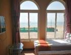 乐亭浅水湾佰聚园酒店出门沙滩躺床上看日出海景宾馆