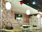 高档小区门口成熟商圈餐馆纸包鱼特色干锅店转让