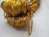 批发金银丝松紧绳 橡筋吊牌线 金银丝线 金色绳子 服装辅料
