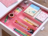 Q1749 时尚抽屉 中号 长方形整理盒 彩色 餐具整理盒 66