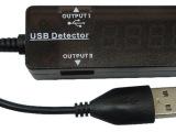 手机/平板/移动电源等充电转接头 USB容量测试仪表 USB电压