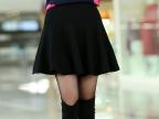 一件代发女士半身裙春装新品加厚针织半身短裙