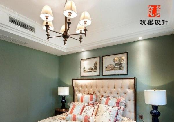 【三门峡湖滨中央花园】美式风格装修设计