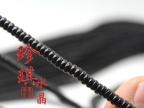 正品天然黑玛瑙算珠散珠串珠子手工材料批发