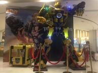 深圳变形金刚大黄蜂 擎天柱 威震天机器人暖场