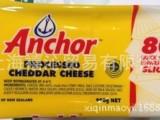 安佳芝士片 新西兰原装进口安佳干酪奶酪切片80片990g奶酪芝士