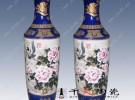 景德镇陶瓷大花瓶 开业乔迁礼品大花瓶 青花大花瓶生产厂家