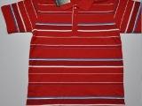 2014新款条纹现货批发,佐丹奴T恤批发,男装短袖T恤