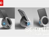 义乌索菲亚工业设计公司设计的汽车智能手机充电器 附效果图