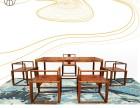 湖北湖南河南江西香港二木新中式红木实木定制家具茶台组合亚花梨