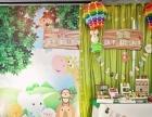 专注南昌宝宝宴、满月百日宴策划、创意气球布置、小丑