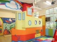 专业早教装修设计北京亲子园设计公司 儿童体验馆装修专业效果图