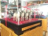 较小号西安车马摆件 送国外友人铜车马礼盒 西安青铜车马