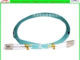 电信级光纤入户线3米 5米 多模万兆OM3跳线双芯LC 双头尾纤