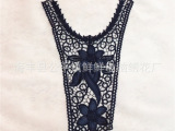 鲜鲜2014新款女装吊带衫背心T恤大后背涤纶贴皮水溶刺绣领花