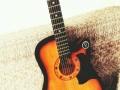 复古民谣吉他
