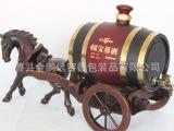 创意不锈钢内胆马拉车2.5升酒桶 木制红酒啤酒酒桶 可来样定做