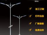 扬州宇通厂家直销 LED双臂路灯杆可来样
