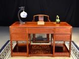 缅甸花梨书桌大小