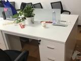 處理一批工位桌辦公桌隔斷桌電腦桌鋁合金培訓桌一對一培訓桌