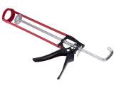9寸大弯钩框架式压胶枪 挤胶枪(加粗钢筋)