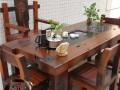 老船木实木家具茶台 阳台茶桌 家具定制 简约 复古 时尚