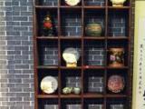 出售古船木茶台博古架酒柜