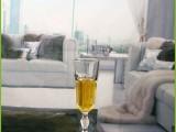 玻璃制品丨无铅玻璃加厚高脚新颖啤酒杯