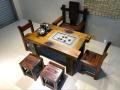 老船木茶桌椅组合批发实木茶几茶具图片中式仿古