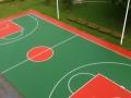 广州篮球架厂家 篮球场地硅PU施工一体 厂家施工直销