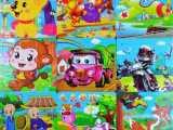 木质幼儿早教益智寓言故事9片拼图拼板宝宝儿童智力开发拼图玩具