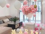 杭州下城飘空气球