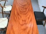 安哥拉苏木板桌餐桌茶桌书桌办公桌功夫茶桌