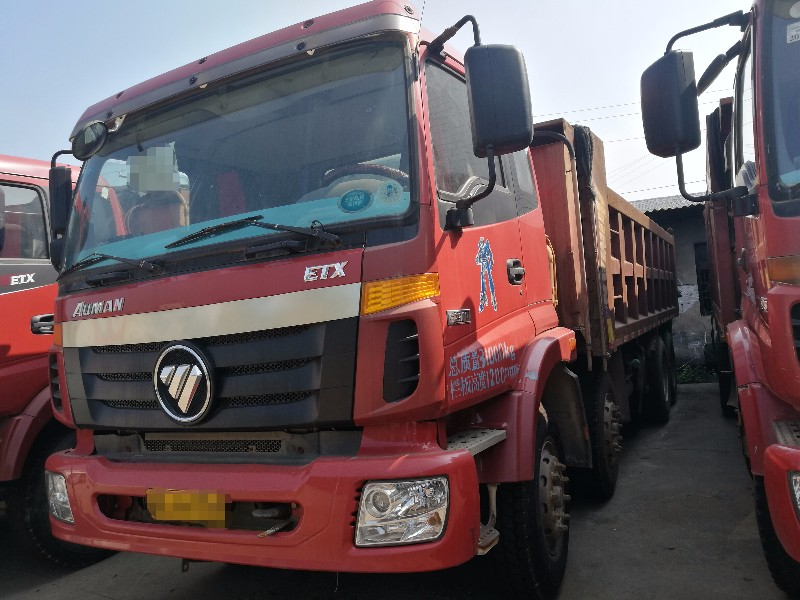 福田欧曼欧曼ETX自卸车车皮仅重12吨适合拉货