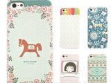 高端彩绘炫彩iphone5s磨砂手感荔枝纹皮纹手机壳苹果4s手机