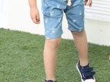 中小童儿童夏装薄款休闲中裤男童中裤夏款男大童运动裤潮