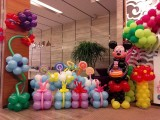 塘沽气球宝宝宴装饰图片